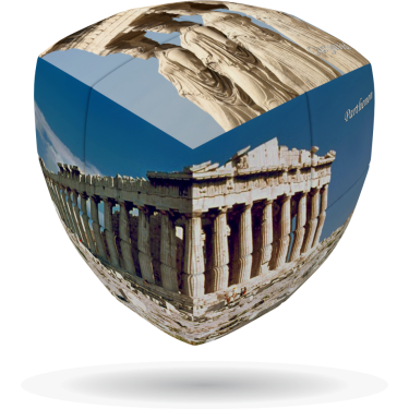 Acropolis - V-CUBE 2 pillow