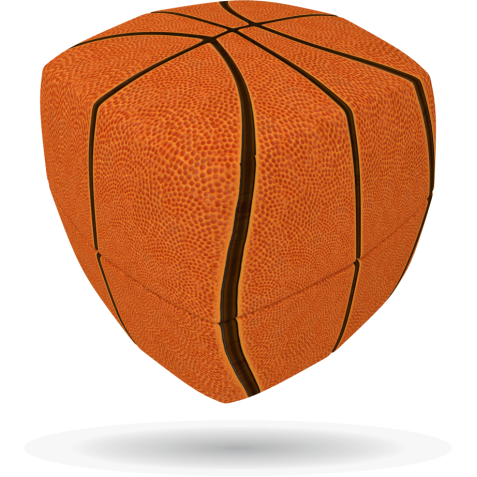 Basketball - V-CUBE 2 Pillow