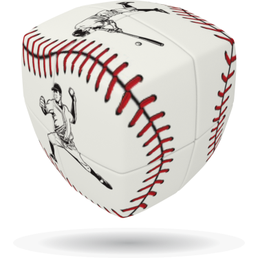 Baseball - V-CUBE 2 Pillow