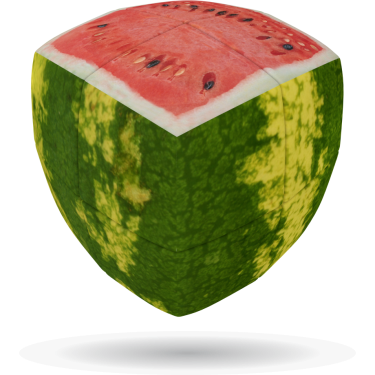 Watermelon - V-CUBE 2 Pillow