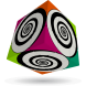 Funky Spirals - V-CUBE 3 Flat