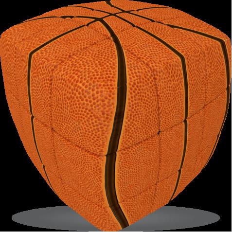Basketball - V-CUBE 3 Pillow