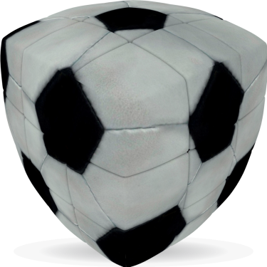 Football - V-CUBE 3 Pillow