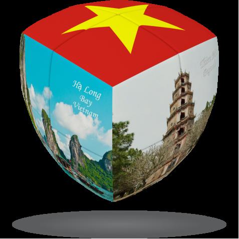 Vietnam- V-CUBE 2 pillow