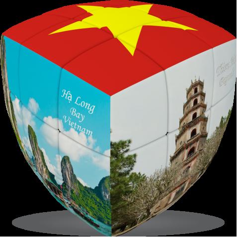 Vietnam - V-CUBE 3 pillow
