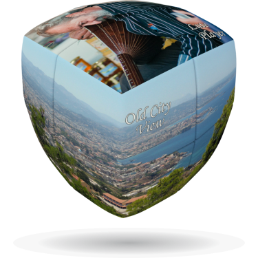Chania - V-CUBE 2 pillow
