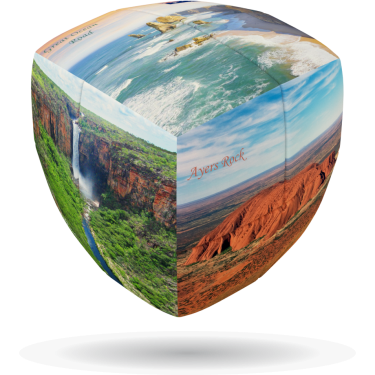 Australian Nature - V-CUBE 2 Pillow