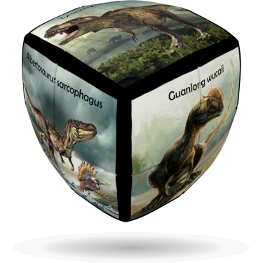 Dinosaurs - V-CUBE 2 Pillow