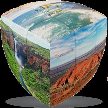 Australian Nature - V-CUBE 3 Pillow