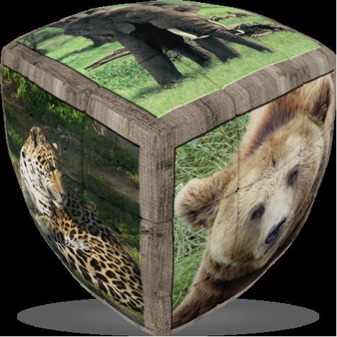 Wild Animals - V-CUBE 3 Pillow