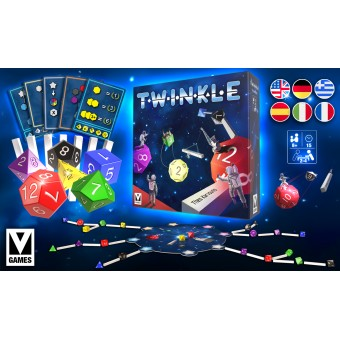 TWINKLE - The Space themed Strategy Tabletop Game