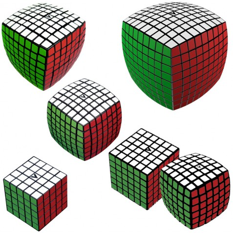 V-CUBE Large Cubes Collection Black