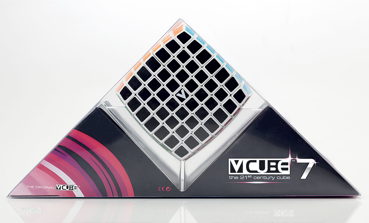 V-CUBE™ 7 is the sturdiest seven-layered cube - V-Classics Seven  layered 7x7x7 smooth rotation Cube