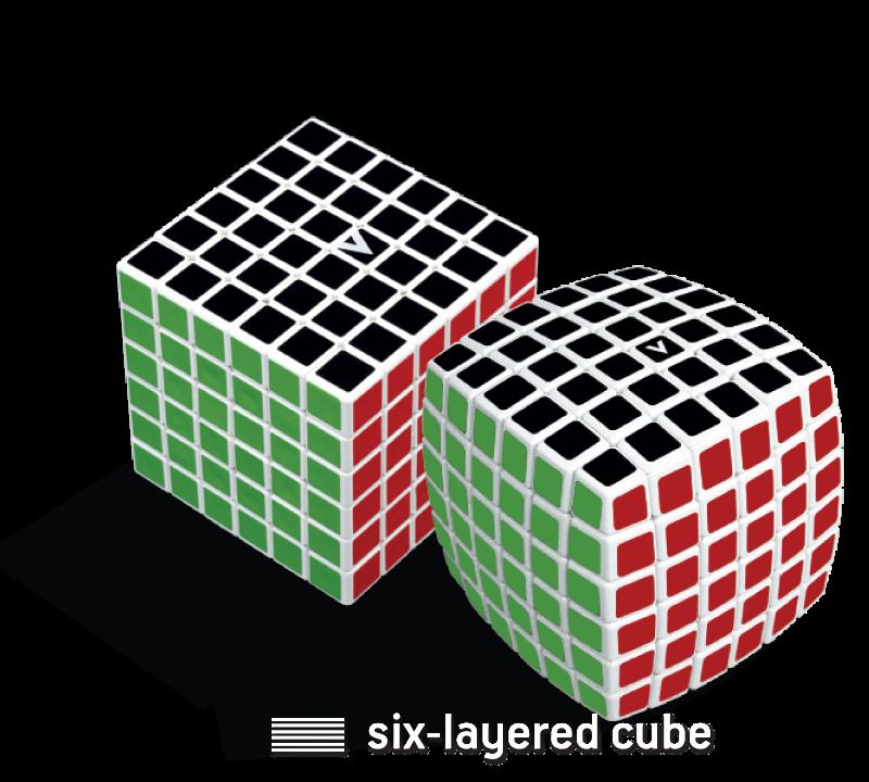 V Cube v cube 6 v classics six layered 6x6x6 smooth rotation cube