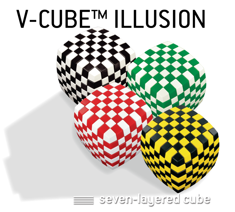 You can enjoy the challenge of solving this bi-colored cube yourself