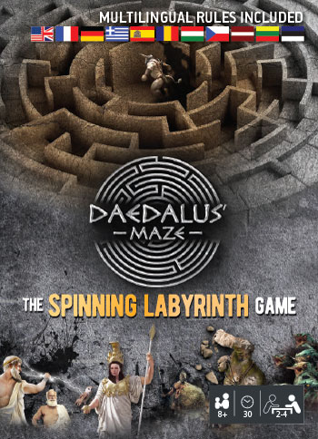 VDaedalus' Maze - The Spinning Labyrinth card game
