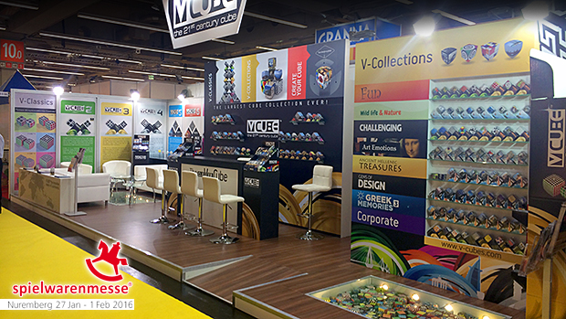 V-Cube is ready to welcome international visitors at Nuremberg Toy Fair 2016 (Spielwarenmesse)