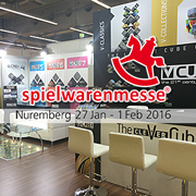V-Cube at Nuremberg Toy Fair 2016 (Spielwarenmesse)