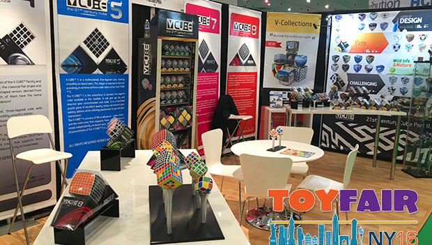 V-Cube is ready to welcome international visitors at American International Toy Fair 2016 (NYC)