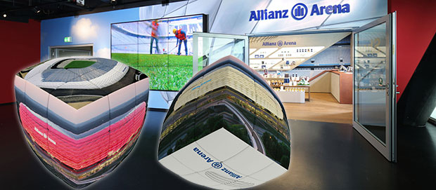 V-Cube for the Allianz Arena, Munich Germany