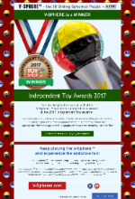 V-Sphere Indepented Toys Award 2017