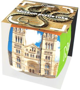Natural History Museum, London Puzzle V-Cube